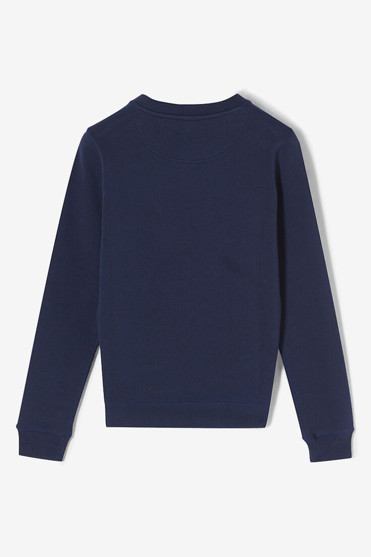 Kenzo Midnight Blue Eye Embroidered Jumper