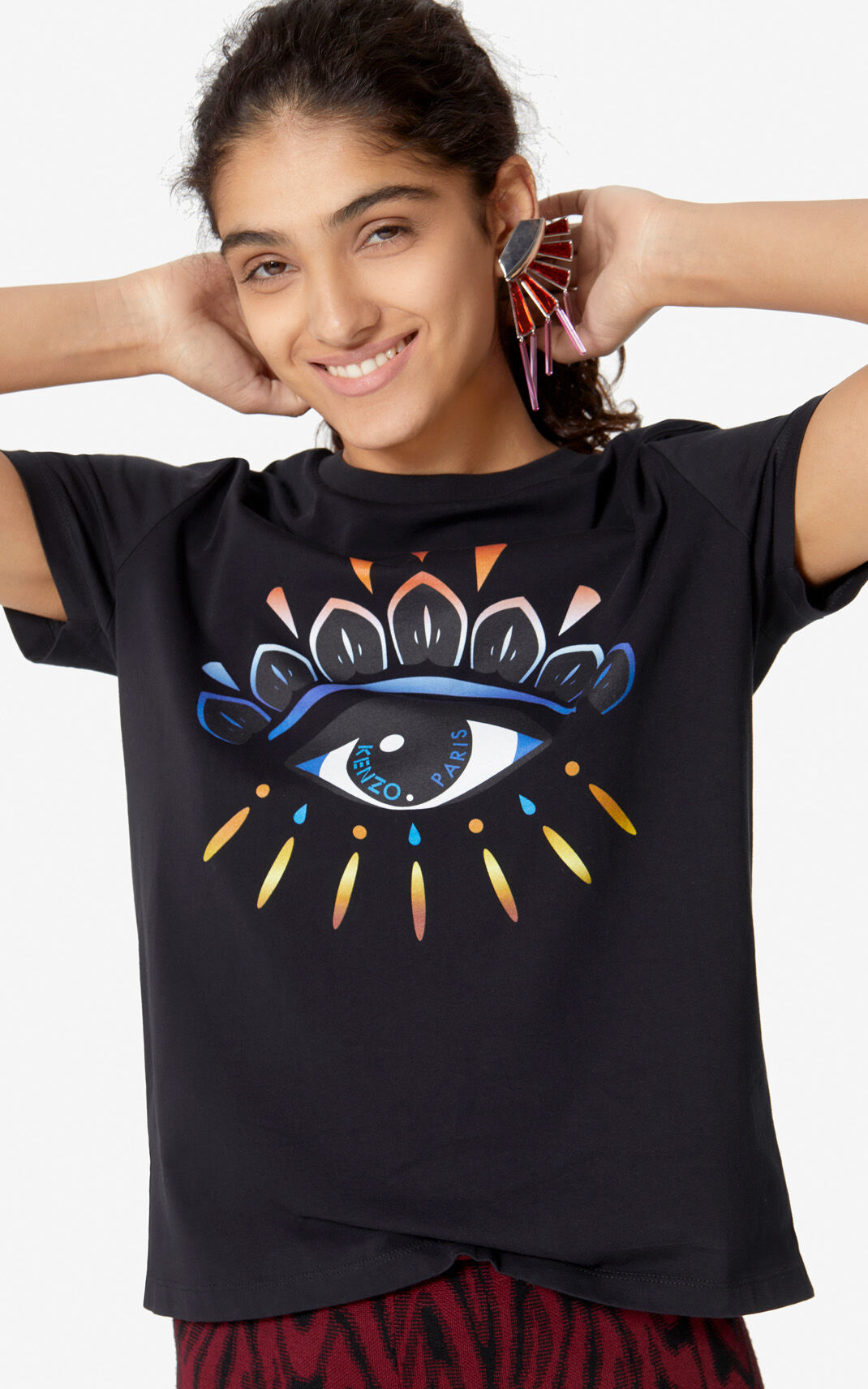 Gradient Eye T shirt | Kenzo US
