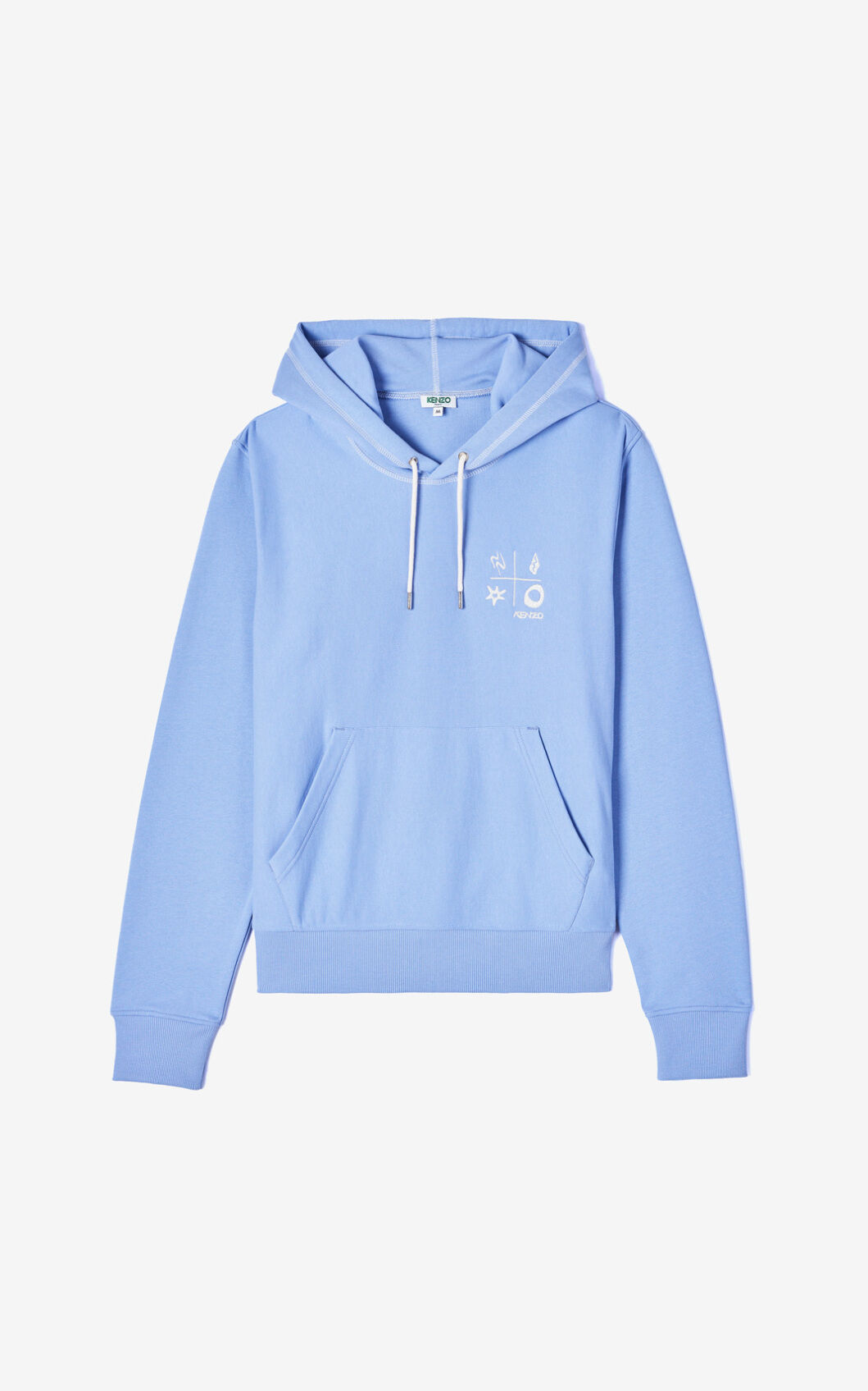 Compass Mens Front Pocket Pullover Cotton Hoodie Sweatshirts